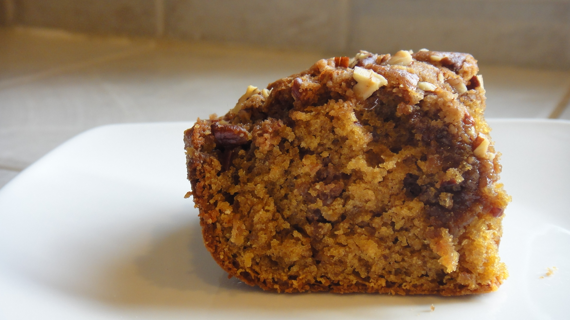Sour Cream-Orange Coffee Cake With Chocolate-Pecan ...