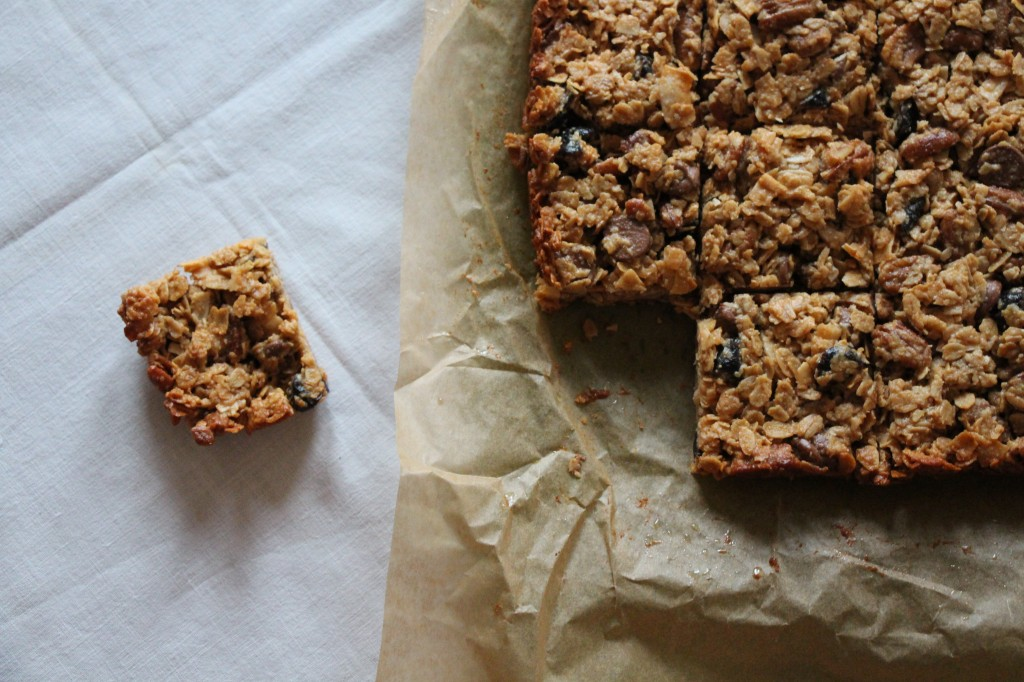 Chocolate Cherry Granola Bars